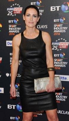 Kirsty Gallacher - Leather Mini Dress