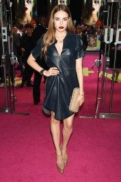 Xenia Tchoumitcheva - Mini Leather Dress