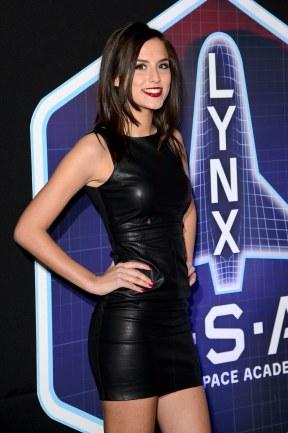Lucy Watson - Leather Mini Dress
