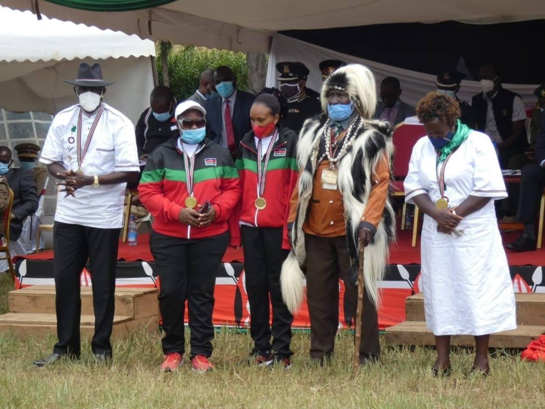 5 feted as Heroes in Nakuru during Mashujaa Day celebrations