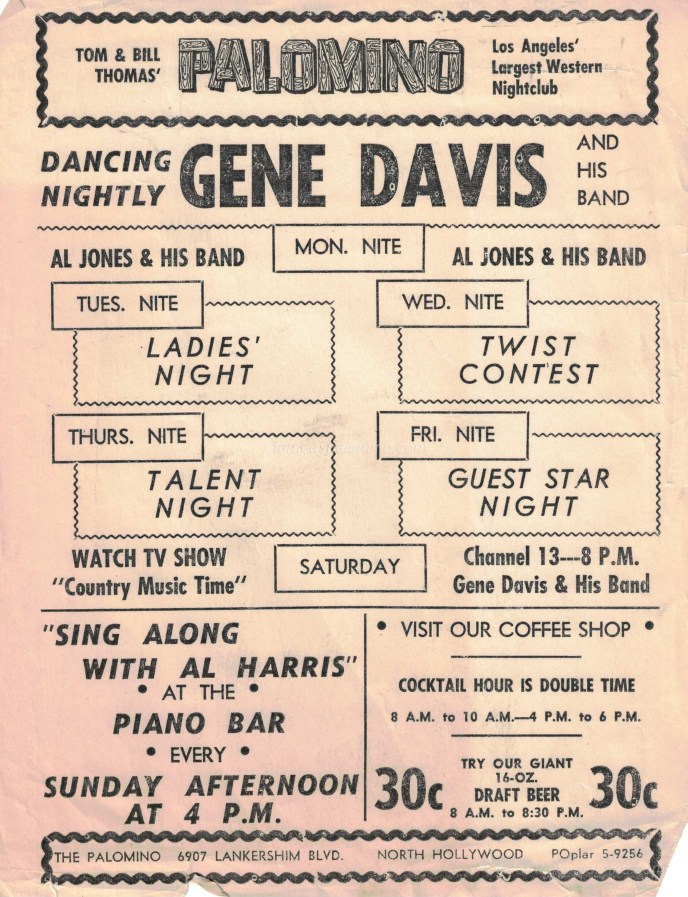 Gene Devis Band Flyer copy