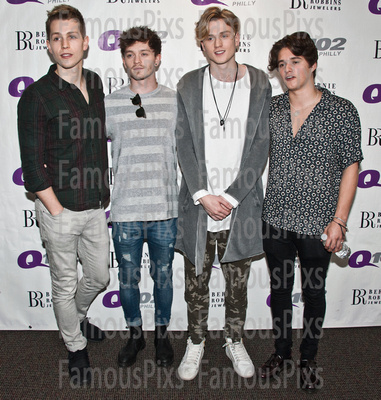 FamousPix: 02/22/2017 - The Vamps Visit Q102 &emdash; The Vamps