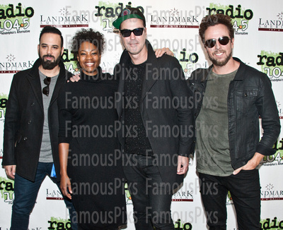 FamousPix: 11/12/2016 - Fitz and the Tantrums Visit Radio 1045 &emdash; Fitz and the Tantrums