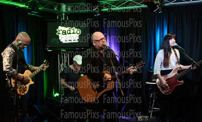 FamousPix: 05/23/2017 - Pixies Visit Radio 1045 &emdash; Pixies