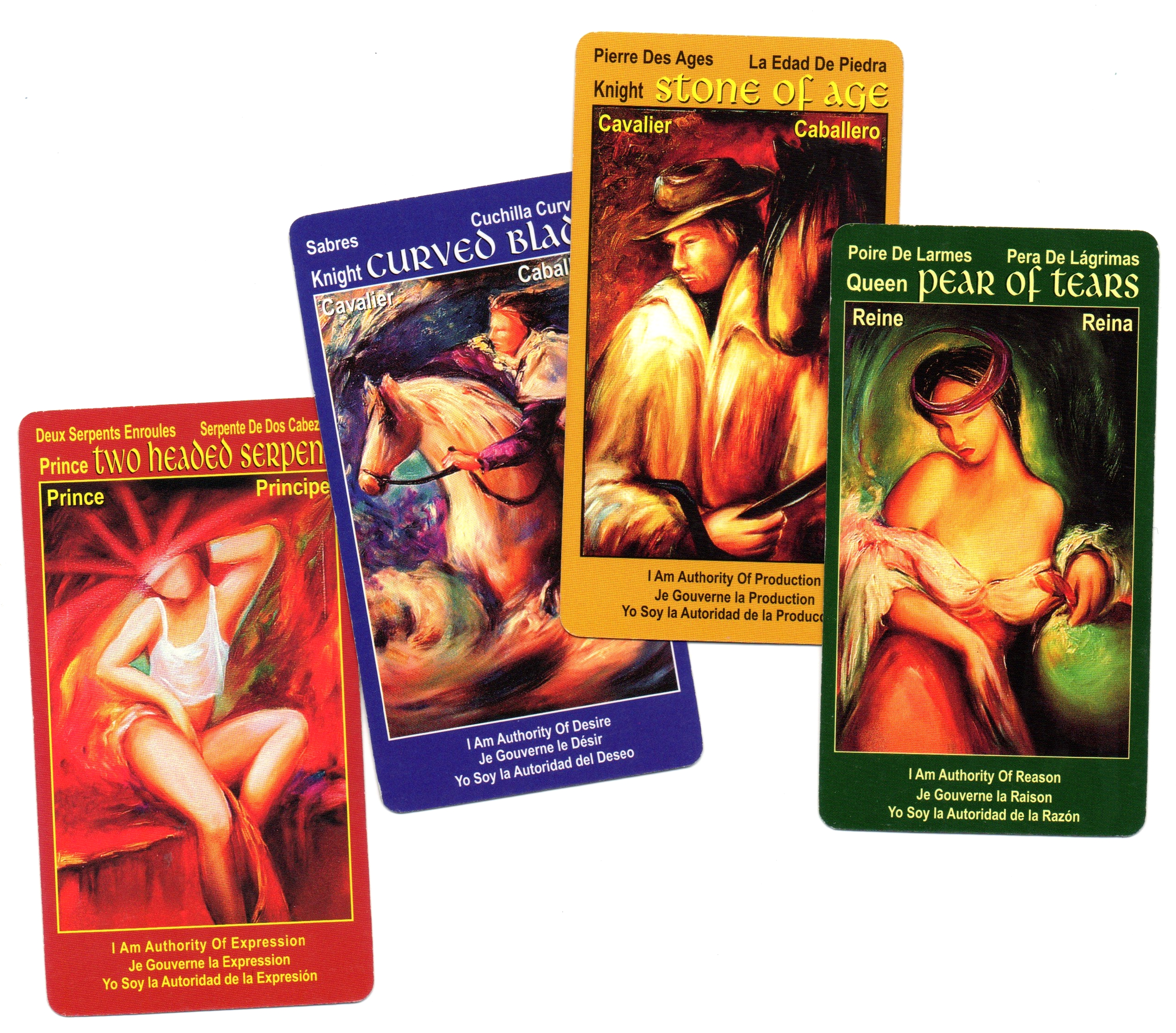 tarot cards I Am One deck Royalties