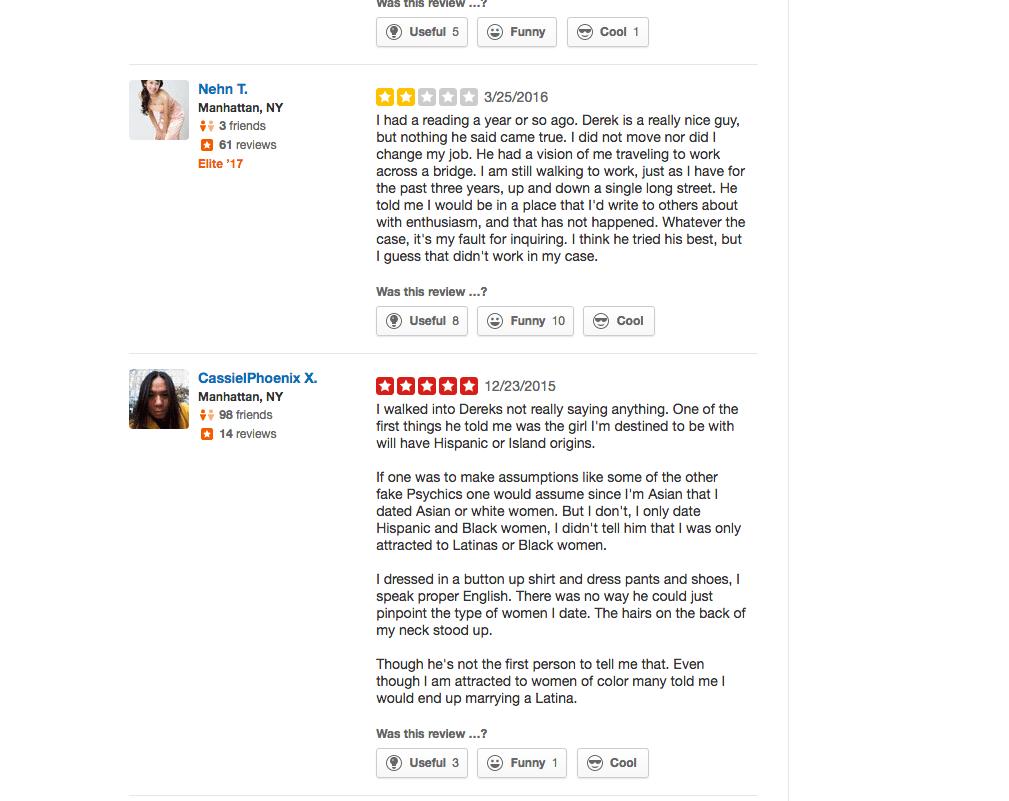 derek calibre reviews
