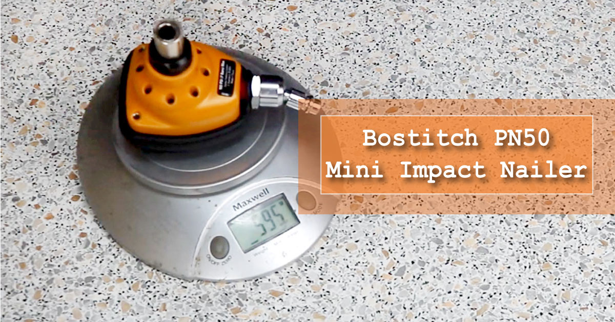 Bostitch PN50 Mini Impact Palm Nailer for woodnailing