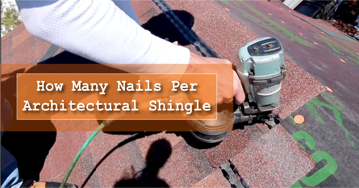 Nailing Architectural Shingle for Roofing