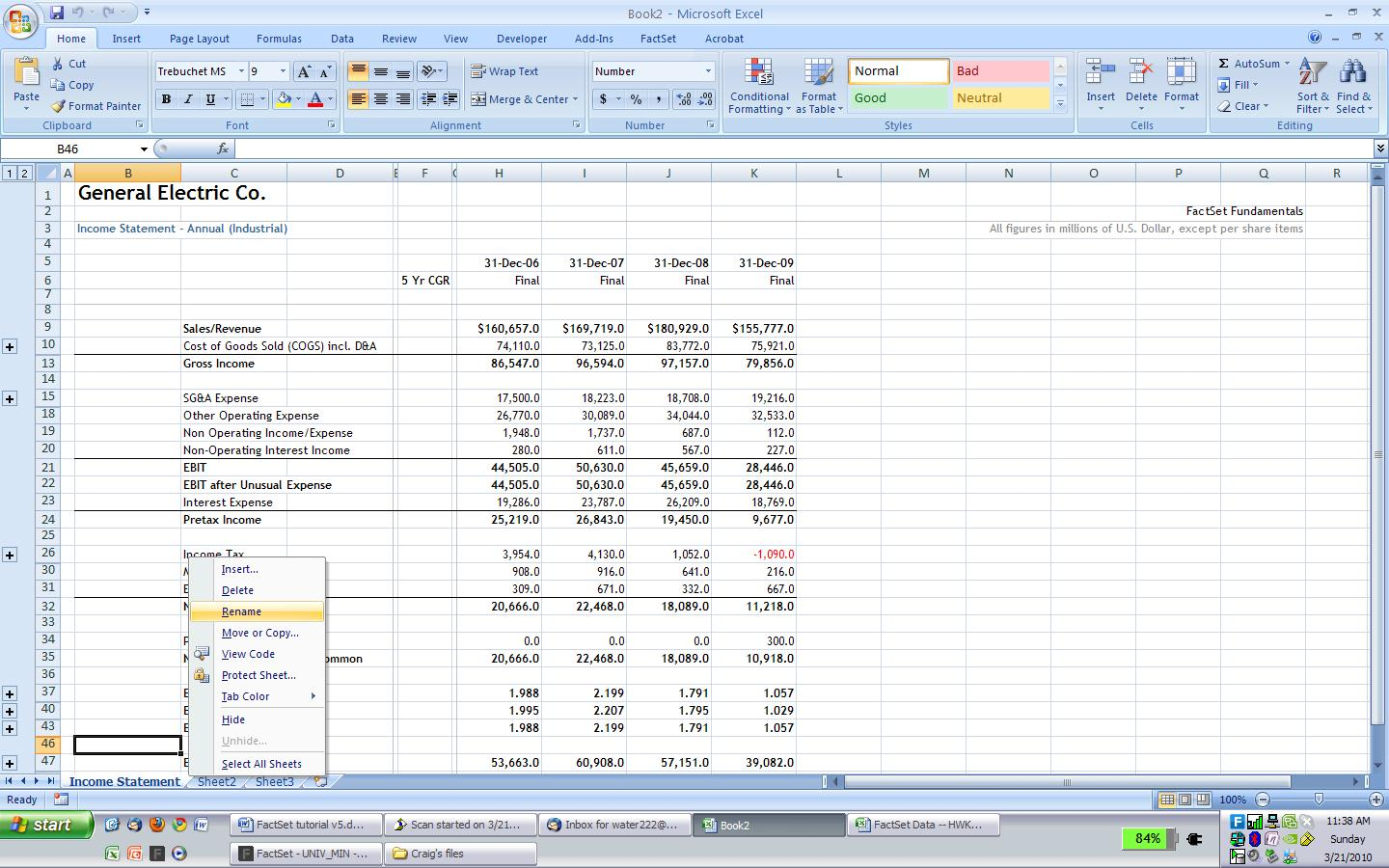 Income Statement Worksheet Free Worksheets Library