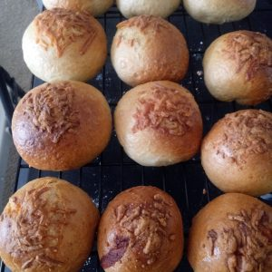Stuffed Egg and Cheese Bagel Balls