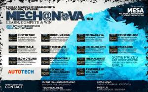 MECHNOVA 2K18 @ Finolex Academy of Management and Technology | Ratnagiri | Maharashtra | India