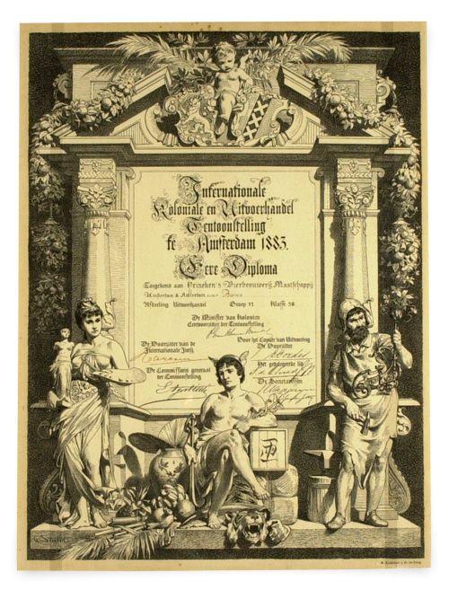 Diplome d'Honneurs (Honorary Diploma)
