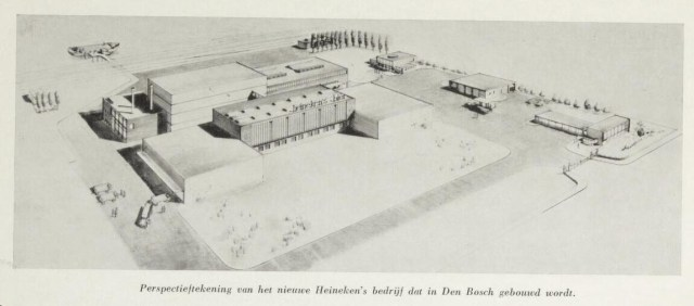 drawing Den Bosch Brewery