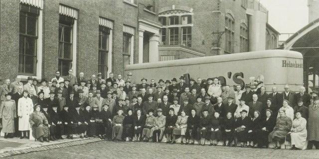 All employees of the Heineken Brewery in Rotterdam
