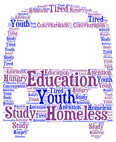 How do you get an education if you are homeless?