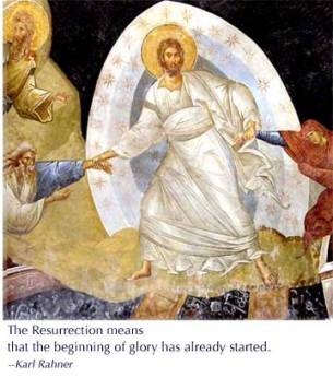 14 Stations after the resurrection?