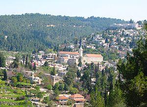 Vatican Radio – DC's working in the hills of Jerusalem