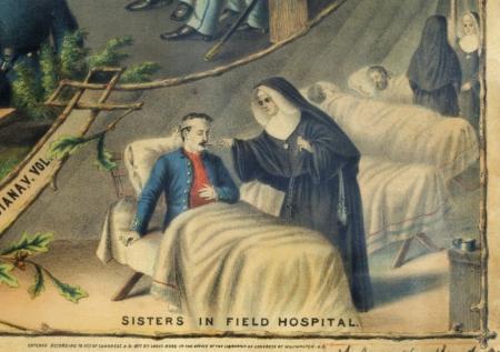 Nuns at war!