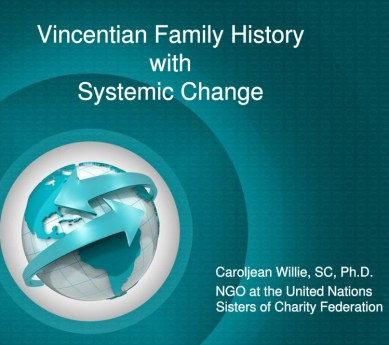 Vincentian Family – Systemic Change
