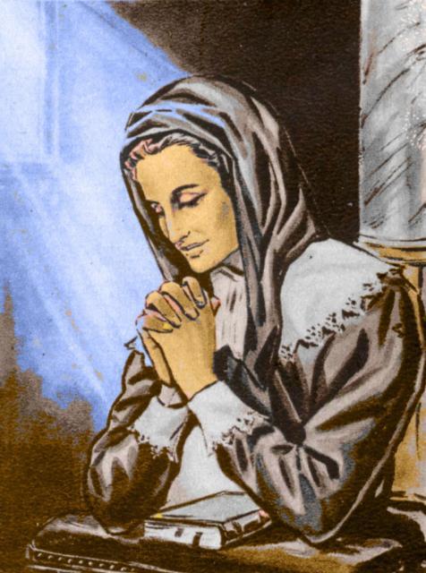 Praying with St. Louise
