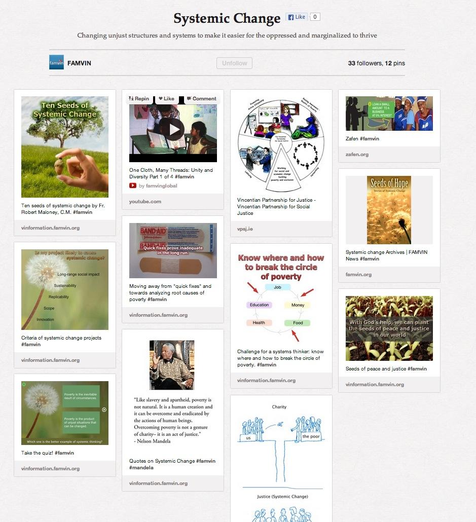 Systemic Change – VinFamily Pinterest Board