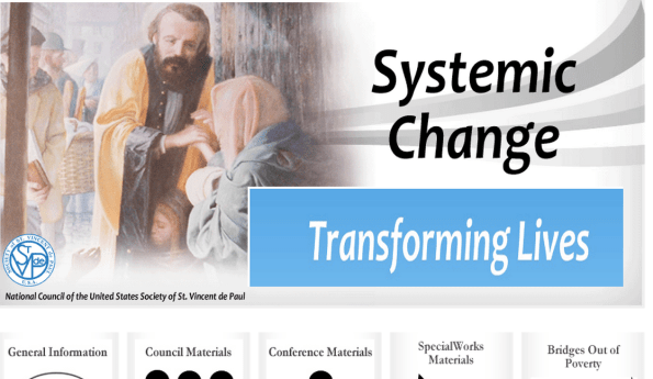 How the SVDP moves toward Systemic change
