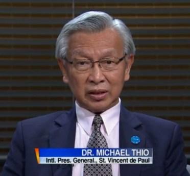 International SVDP President Video interview