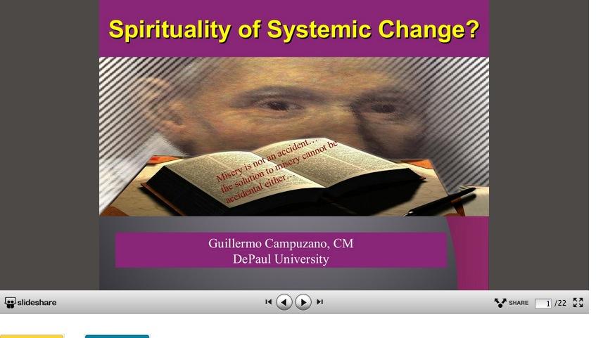 Spirituality of Systemic Change