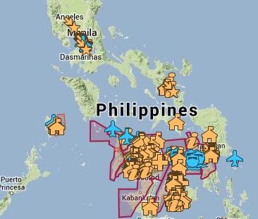 Google resources for Typhoon Haiyan