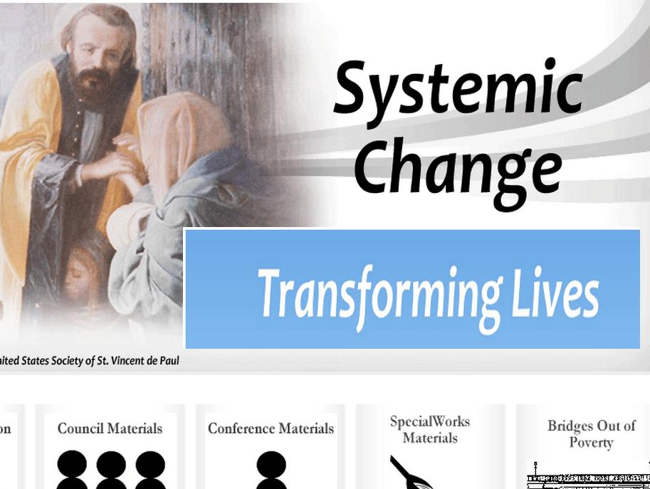 SVDP Systemic Change