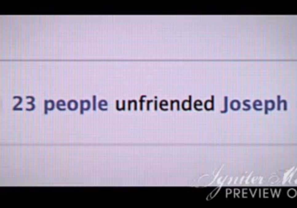 Joseph and Mary on Facebook