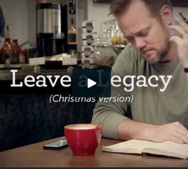Leave a legacy this Christmas