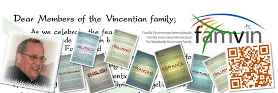 Vincentian Family to celebrate New Evangelization