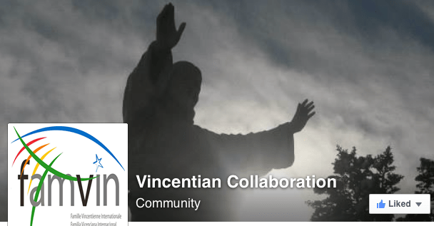 Vincentian Family Collaboration on Facebook