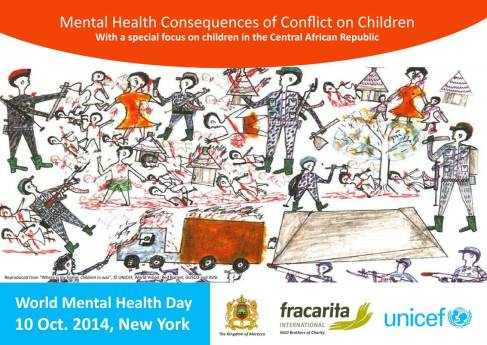 """Vincentian Family and """"Mental Health Consequences of Conflict on Children"""""""