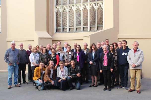 Fall 2014 Participants Vincentian Leadership Course Victoria Australia