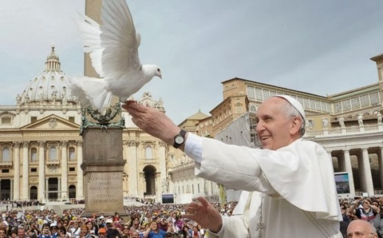 """""""Slaves No More, But Brothers and Sisters"""" Pope Francis"""