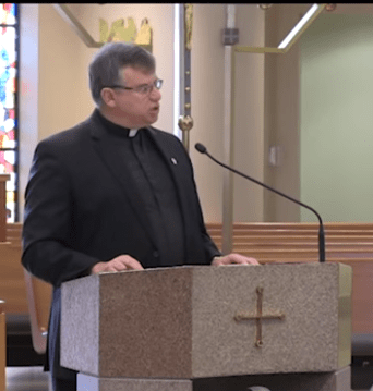 Fr. Griffin –  The Triduum – What's the rush?