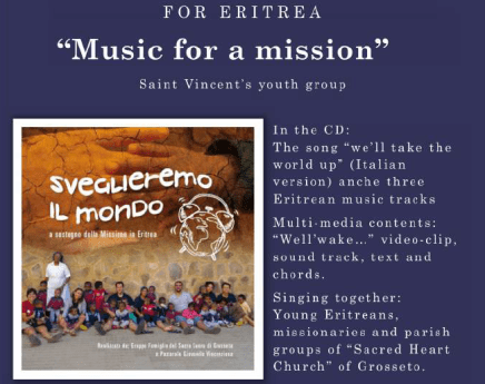 """""""Music for the Mission"""" DC support Mission in Eritrea"""