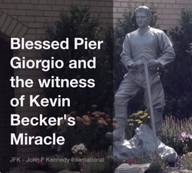 Claim of Blessed Frassati miracle