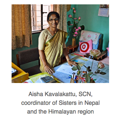 Direct aid to Sisters of Charity in Nepal