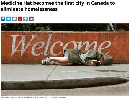 City in Canada eliminates homelessness