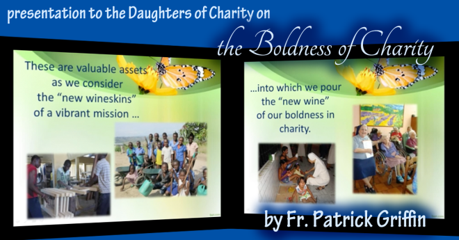 """Patrick Griffin on """"The Boldness of Charity """""""