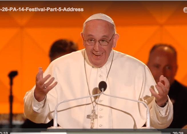 A passionate proclamation of the Gospel – Spontaneous Pope