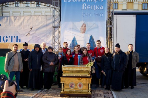 Ecumenical prayer meeting in Kiev – role of a Daughter of Charity