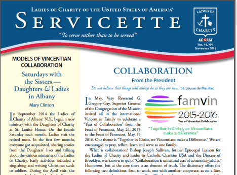 Ladies of Charity reflect on Vincentian Collaboration