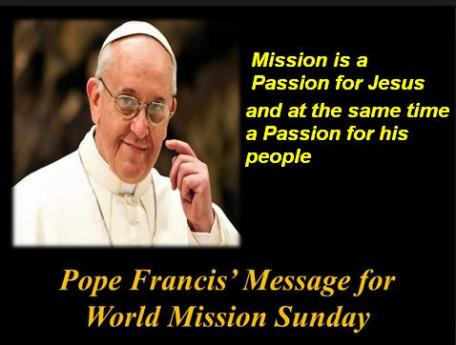 Pope Francis on World Mission Day 2015