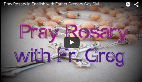 Pray the rosary with the Superior General
