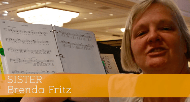 60 Seconds with Sister Brenda Fritz