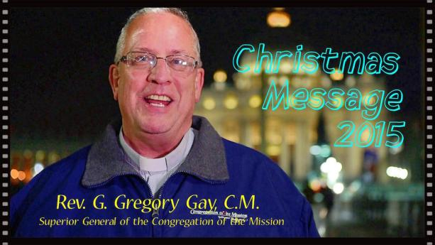 Fr Gregory Gay – Christmas greetings from Vatican Square